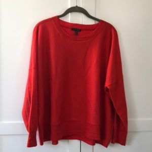 Eileen Fisher 🍎 red box-top sweater